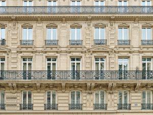 Façade d'un immeuble parisien